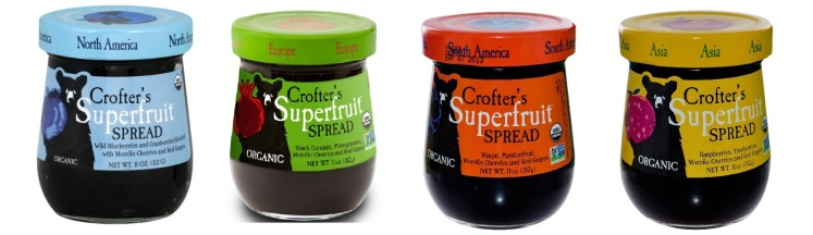 crofters superfruit spreads